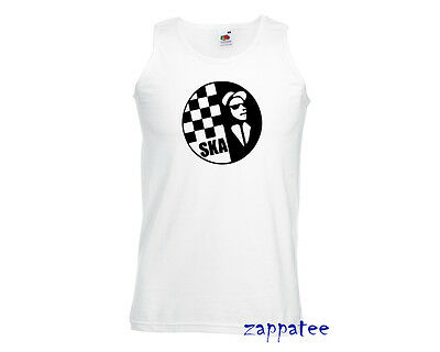 Ska Vest 2 Tone Music Madness Specials reggae singlet Cooler Than a T Shirt