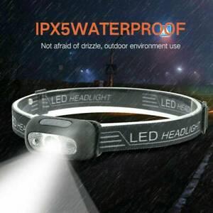AU-LED-USB-Rechargeable-Headlamp-Fish-Bright-Waterproof-Head-Torch-Headlight