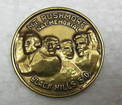 Exonumia Spirited Mount Rushmore South Dakota National Memorial The Black Hills Comm Bronze Medal