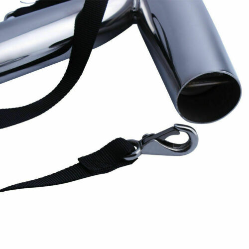 Pair Stainless Steel Marine Boat Outrigger Fishing Rod Holder for Yacht Kayak