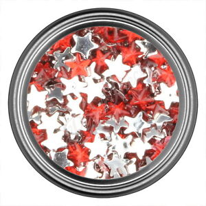 Red-Star-Rhinestone-Gems-Flat-Back-Face-Art-Nail-Art-Jewels-Decoration