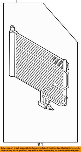 Mercedes MERCEDES-BENZ OEM C320 Air Conditioner A//C AC-Condenser 2035001254