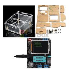 Diy Transparent Acrylic Casegm328b Lcd Transistor Test Tester Diode Meter