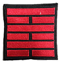 GI Joe   -  Red Snake Eyes   - Patch - Uniform  Aufnäher  neu