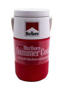 Vtg-1990-Marlboro-Summer-Cooler-Thermos-Coleman-Water-Jug-NEW-OLD-STOCK-UNUSED