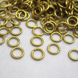 Brass Triangle Jump Rings