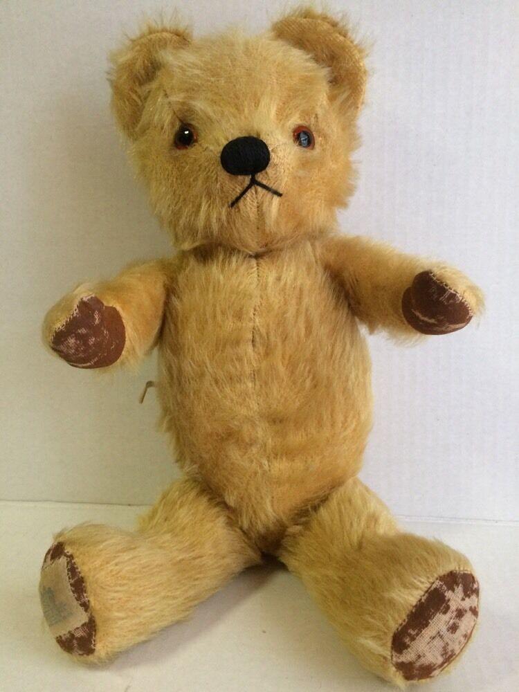 Vintage 1950's Musical Mohair TEDDY BEAR 15  Toy, CHAD VALLEY CO LTD