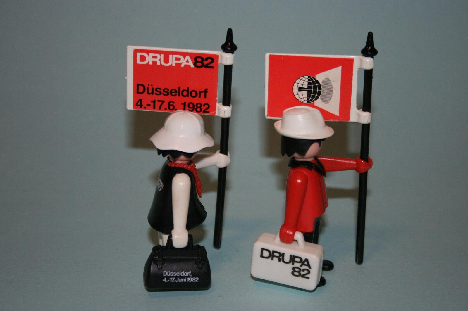 PLAYMOBIL Happy Drupa 1982 Sonderfiguren Sonderfiguren Sonderfiguren  Promo - selten -  | Bestellungen Sind Willkommen  4b8462