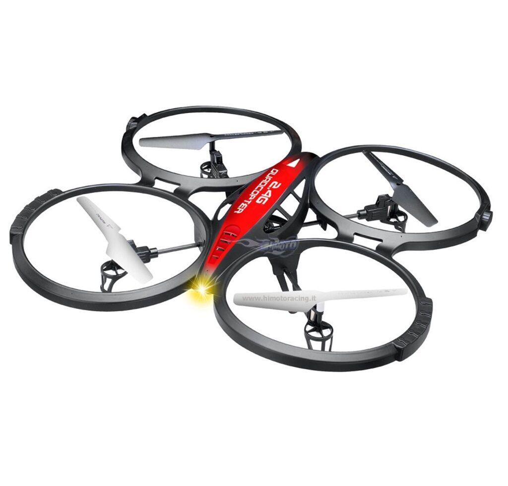 DRONE DRONE DRONE QUADRICOTTERO SPIDER HIMOTO RADIO 2.4GHZ VOLO 3D 360° LIPO 3,7V HI6036 9ec8d9