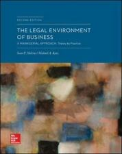 The Legal Environment of Business: a Managerial Approach: Theory to Practice by Sean Melvin and Michael A. Katzenberg (2014, Hardcover)