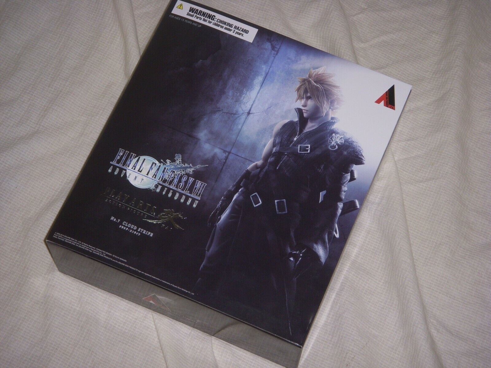 Square Enix Play Arts Kai  Action Figure Final Fantasy VII Cloud Strife  grosses soldes