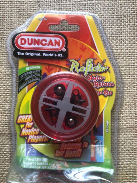 Duncan Reflex Auto Return Automatic Beginner Yo-Yo Transparent Green