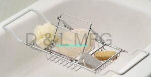 JUMBO! Bath Caddy Complete w// Magazines Rack//PL