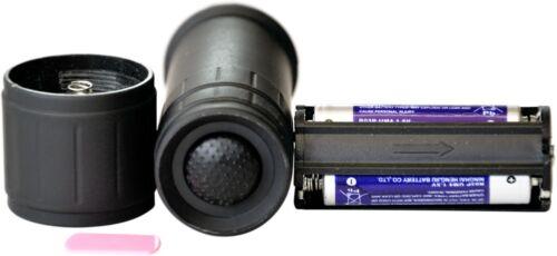HR RICHTER soft touch Hand Taschenlampe LED mit Klemmhalter Klammer Halterung