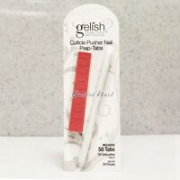 Gelish Harmony Plastic Cuticle Pusher Prep Tabs (nail Buffer) - Gel Cleaner Tool