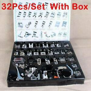 32PCS-Domestic-Sewing-Machine-Foot-Presser-Feet-Set-For-Brother-Singer-Janome-US