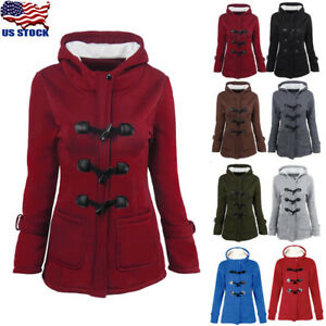 Women-Trench-Parka-Hooded-Coat-Jacket-Outwear-Winter-Warm-Long-Overcoat-Hoodies
