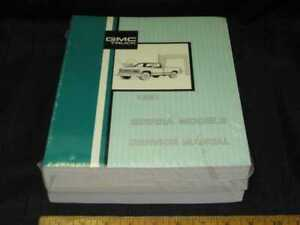 1991-GMC-C-K-SIERRA-Light-Duty-Truck-Shop-Manual-Set-NEW-ORIGINALS