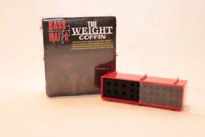 New Bass Mafia Bass Mafia Weight Tungsten Sinker Coffin 3 Pack  R1-WEIGHTBOX