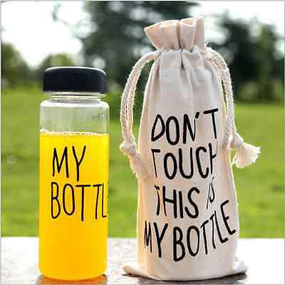 500ml Juice Water Readily Cup Today's Special My Bottle Portable Sport Bottle
