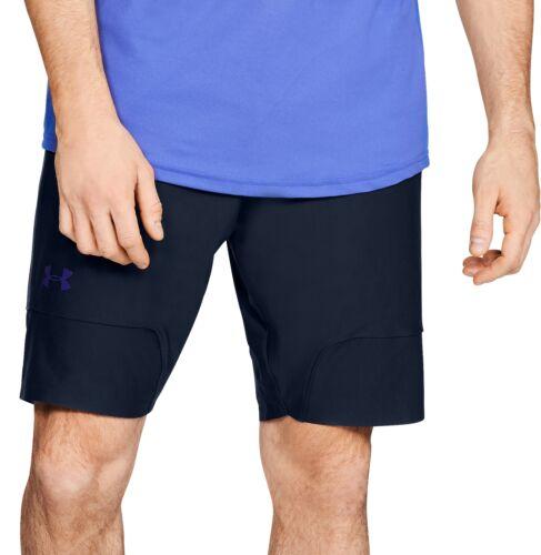 Under Armour Threadborne Vanish Ftd Mens Running Shorts Blue