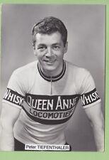 Peter TIEFENTHALER, Champion de Suisse 1963, Queen Anne, Locomotief. 2 Scans