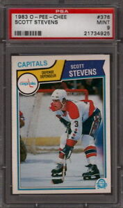 1983-OPC-Scott-Stevens-Rookie-376-PSA-9-MINT