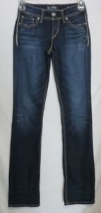 35 Suki Slim Donna Jeans Mid 26 Denim Boot Distressed 36 Super Stretch argento SPwqw5g