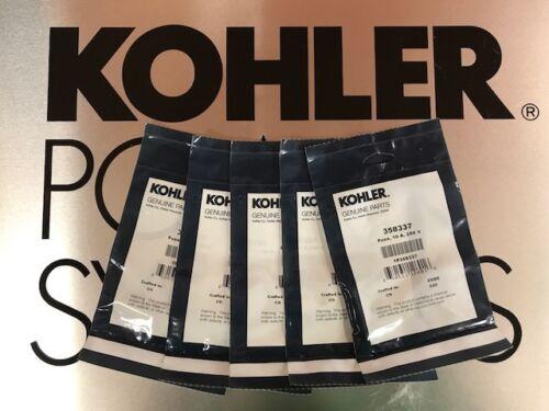 Kohler 358337 Fuse 1 Kit Containing 5 358337 Genuine OEM 10A 250V