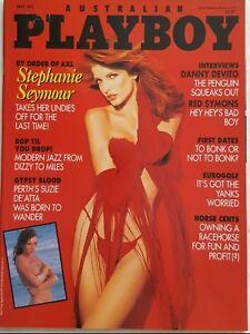 PLAYBOY-OZ-1993-MAY-Stephanie-Seymour-Suzie-De-039-Atta-playmate-Tiffany-Sloan-NM