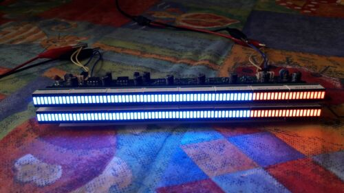 PCB ONLY for 160 LED stereo VU METER SGVU-L16