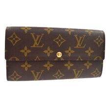 Louis Vuitton Monogram Portefeuille Sarah Wallet M61734 Ct0026