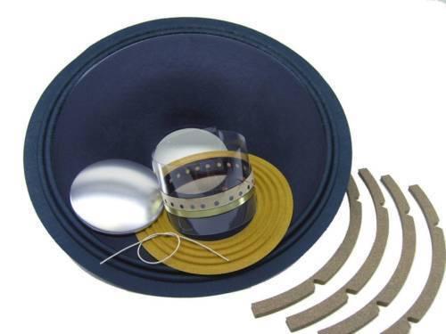 Recone Set für JBL D130 E130 K130 15   Lautsprecher Ss Audio 8 Ohm Reparatur