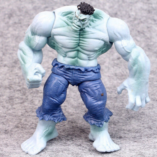"""4pcs 5/"""" Marvel Avengers Hero The Grey Red Hulk Action Statue Figure Collection"""