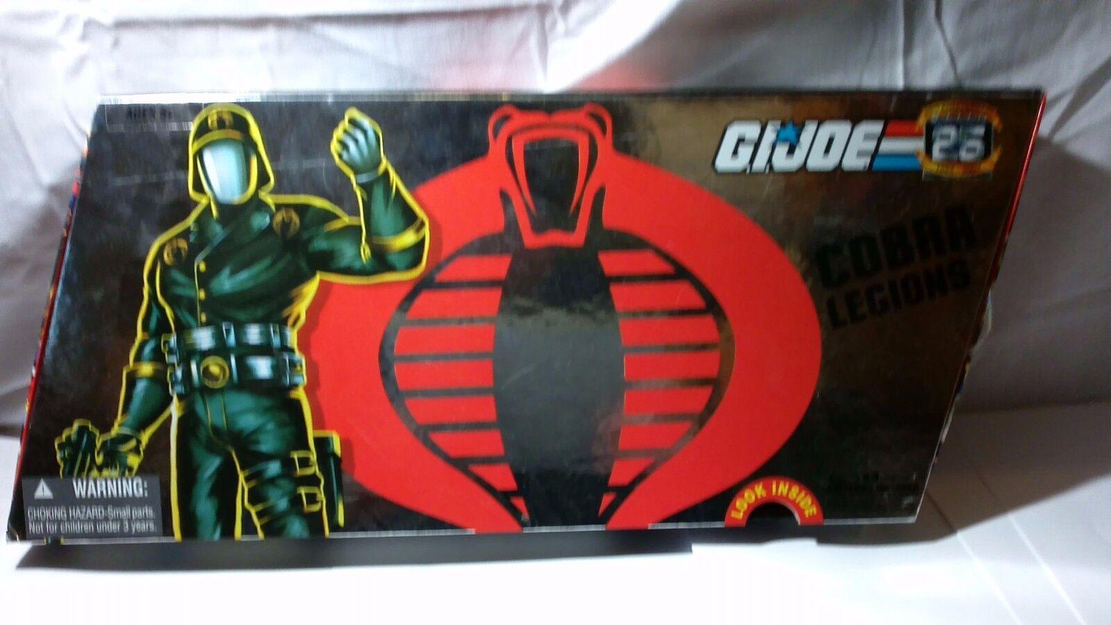 G. i. joe 25. jahrestag cobra legionen box
