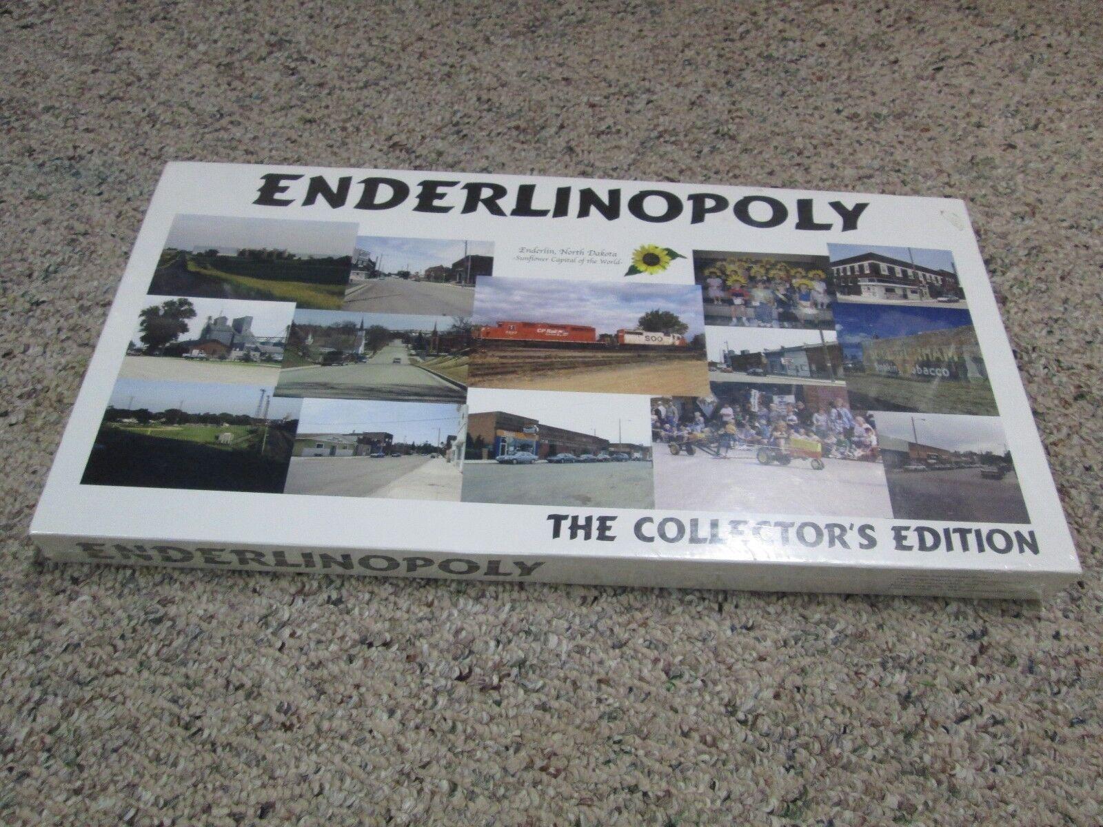 ENDERLINOPOLY GAME Enderlin North Dakota MONOPOLY MONOPOLY MONOPOLY Collector's Edition Game ae558e