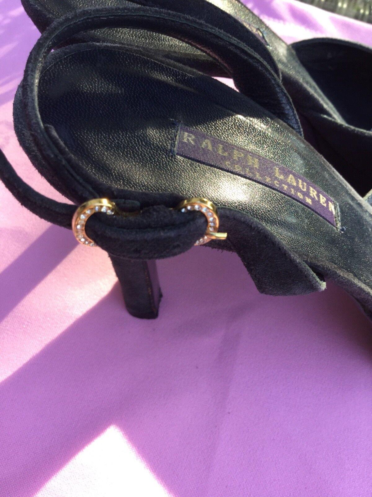 Ralph Lauren Pumps Slingpumps dunkelblaues Wildleder 39 39 39 ⚜️ f978fd