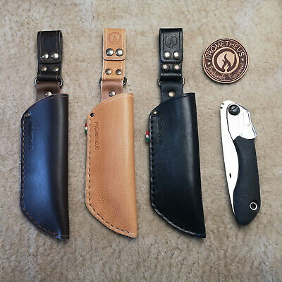 Hand made Articulated Leather Sheath for Silky Pocketboy 130 saw