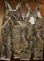 Girls Pants Sz 4t Ranger Bib Overalls Realtree Camouflage you Go Girl