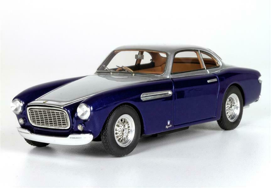 Ferrari 212 Inter Vignale Coupé'51 chassis 0135e bleu argent 1 43 - bbr190b BBR