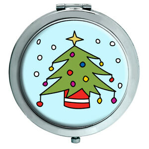 Weihnachtsbaum Kompakter Spiegel