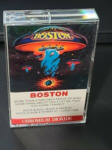Boston Self Titled More Than A Feeling Epic 1976 Cassette Tape CrO2 b27