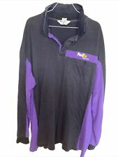 NEW FedEx Stan Herman Home Delivery Work Employee Men/'s Polo Shirt