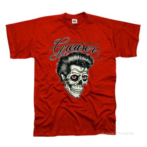 * t-shirt rockabilly rock /'n roll 50s tattoo skull psychobilly Design 1080