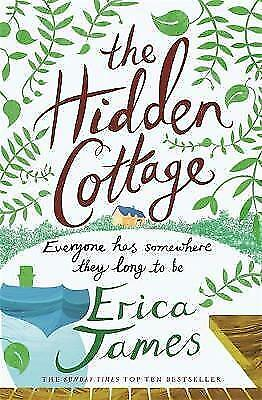 The Hidden Cottage by James, Erica, Good Book (Paperback) Fast & FREE Delivery!