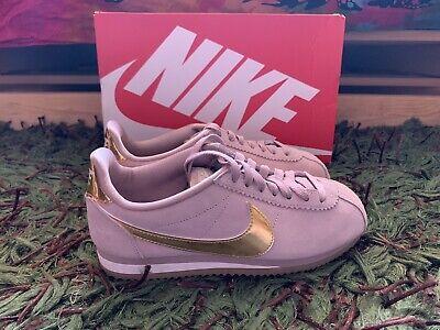 mostrador Ninguna fin de semana  Zapatillas Nike Cortez Rosa Y Dorado T.37 | eBay