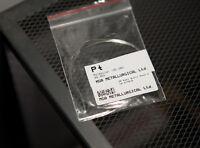 Reinem Platin Pt Metalldraht 99,95% - Durchmesser 0,4 mm - Flammenreaktion
