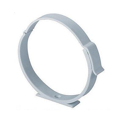 Rohrschelle Halter für Lüftungsrohr ABS Rundrohr Ø 100 125 150 mm Abluft-Rohr