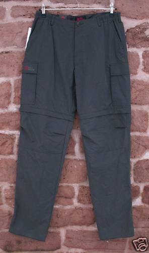 Fjäll Räven Sumatra MT Ladies Zip-Off  Trousers, Size 46  hastened to see