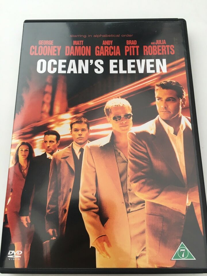 Ocean's 11, 12 and 13, DVD